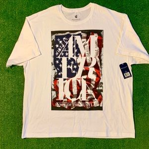 New! ROCAWEAR America Home of the Hustle T-shirt.